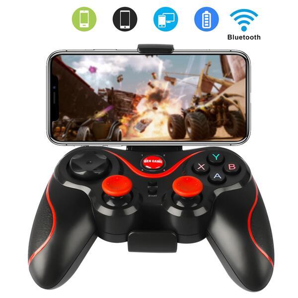 Gamepad Джойстик със стойка за смартфон,таблет,лаптоп,телевизор Android Tv Box.