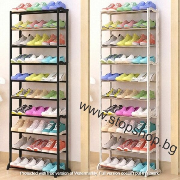 26.Метална етажерка стелаж за обувки до 30 чифта Amazing Shoe Rack