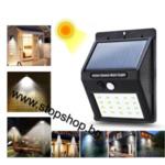 г8.LED Соларна диодна външна лампа с сензор за движение