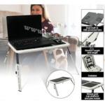 б550.Маса за лаптоп с два охладителя,с подложка за мишка,чаша,химикал