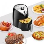 12.Фритюрник Air Fryer с Горещ въздух за здравословно приготвяне на храна стилен и компактен