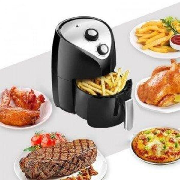 03.Фритюрник Air Fryer с Горещ въздух за здравословно приготвяне на храна стилен и компактен