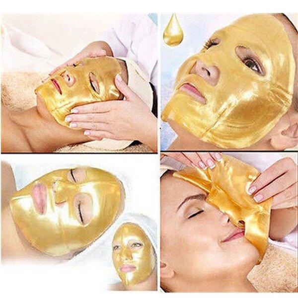 31.За свежа и сияйна кожа! Златна почистваща и стягаща пилинг-маска за лице Rossini