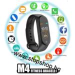б5.Смарт часовник,фитнес гривна М4 Най новият модел 2021г