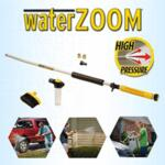 Система WaterZoom накрайник за разпръскване на водата тип пароструйка.