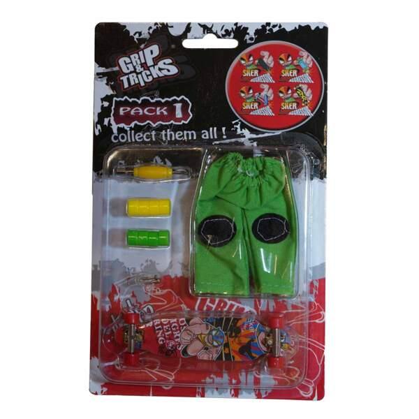 Комплект играчка за пръсти LONG BOARD, с боксьор