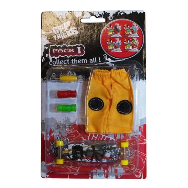 Комплект играчка за пръсти LONG BOARD, сив