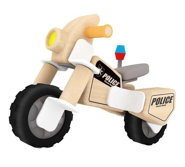 Дървен полицейски мотор