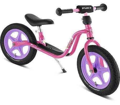Колело за баланс за деца над 3 години PUKY LR 1L - светло розово