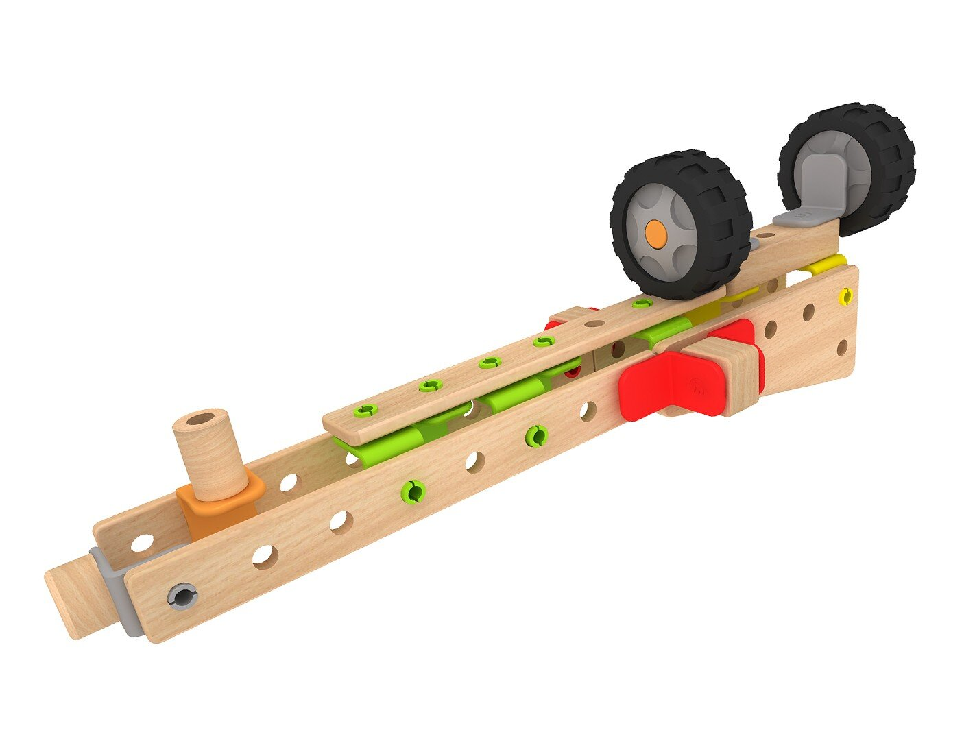 Класически дървен конструктор от 500 части