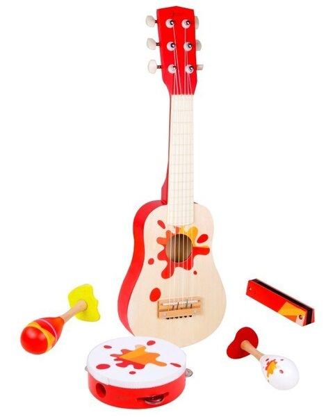 Музикален дървен комплект за деца
