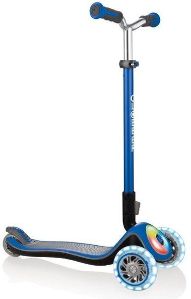 Тротинетка Elite Prime със светещи колела - Синя