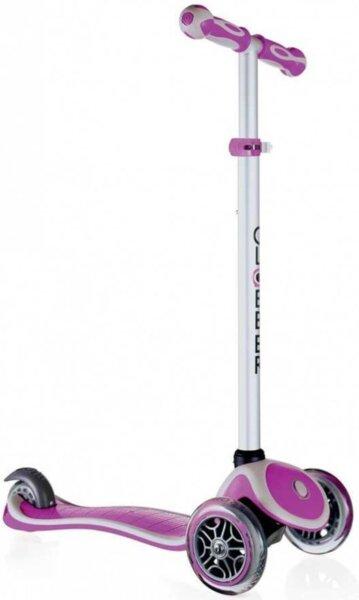 Тротинетка My Free за деца с регулируема височина Пурпурно розова