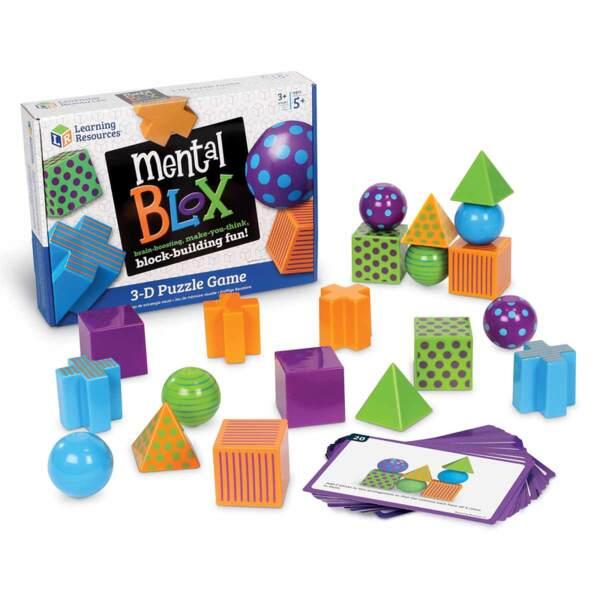 3D детска игра за пространствено мислене