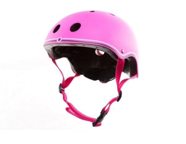 Цветна каска за колело и тротинетка, 51-54 см  Розова