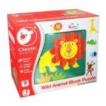Детски пъзел с кубчета - Лъвче