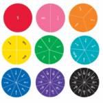 Детско математическо помагало с дроби и проценти