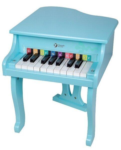 Детско пиано - синьо