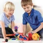 Детски конструктор - Машини в действие - 116 части