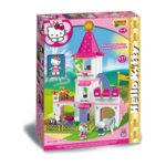 Конструктор за деца - замък, Hello Kitty, Unico