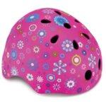 Детска каска за колело и тротинетка, 51-54 см - Розова