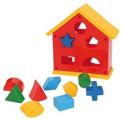Къща с геометрични фигури