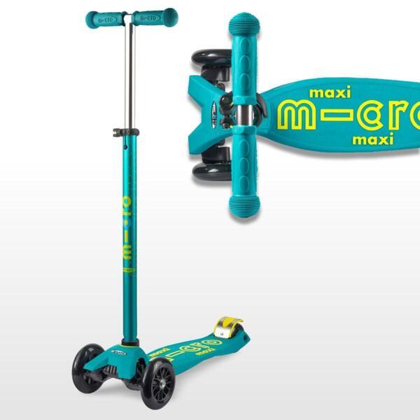 Тротинетка Micro Maxi Deluxe Petrol Green