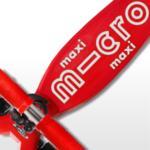 Тротинетка Micro Maxi Deluxe LED Red