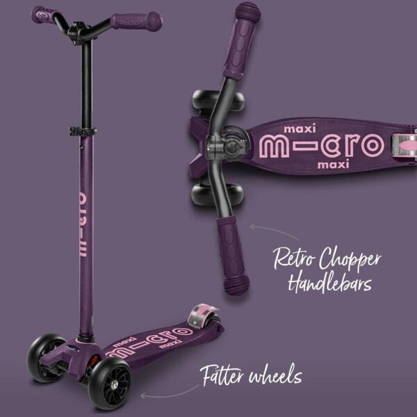 Тротинетка Micro Maxi Deluxe Pro Purple