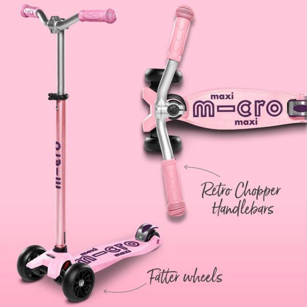 Тротинетка Micro Maxi Deluxe Pro Rose