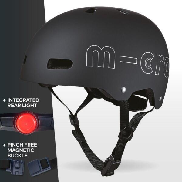 Каска за тротинетка Micro ABS Black