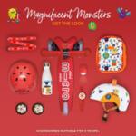 Каска за тротинетка Micro 3D Monsters