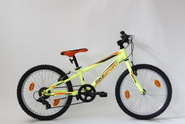 "Bikesport rocky 20"" neon green matt"
