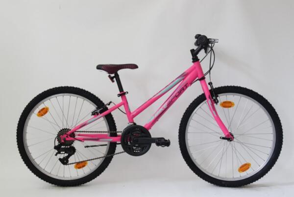 "Bikesport viky 24"" neon pink matt"
