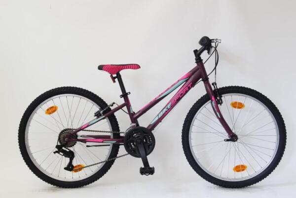 """Bikesport viky 24"""" violet matt"""