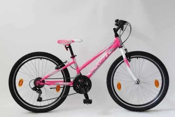 """Sprint calypso 24"""" 18 sp pink"""