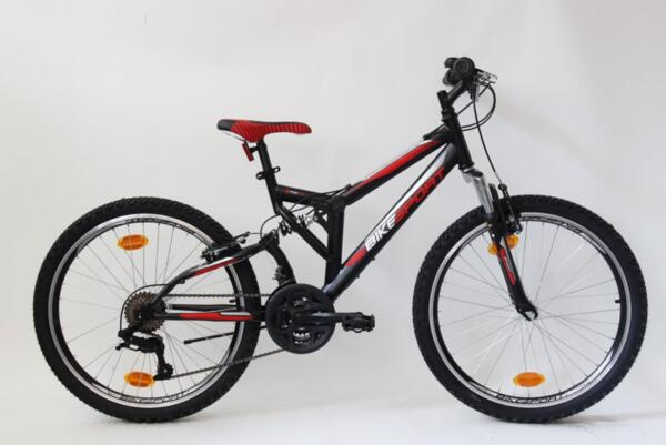 "Bikesport paralax 24""black matt"