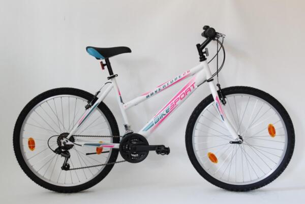 """Bikesport adventure lady 26"""" whire matt"""