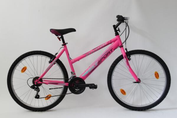 """Bikesport adventure lady 26"""" neon pink m"""