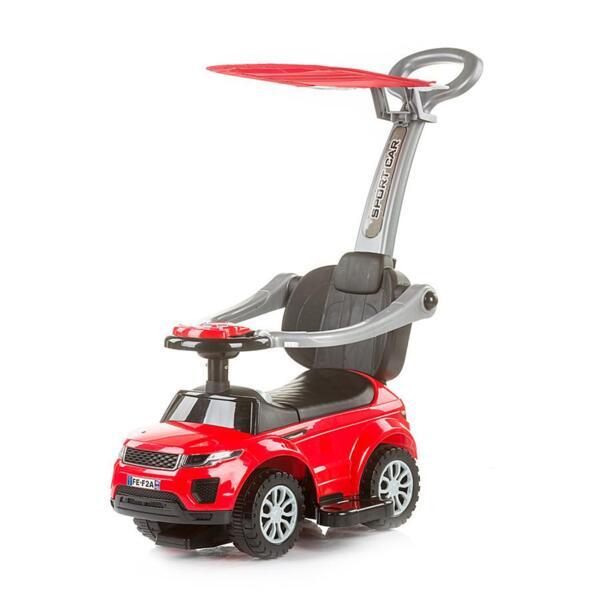 """Кола за яздене със сенник """"RR Max"""" черв."""
