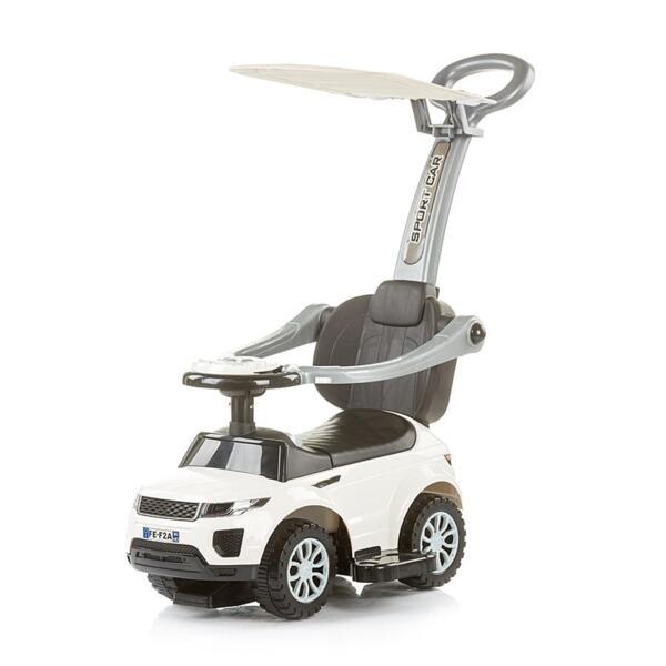"""Кола за яздене със сенник """"RR Max"""" бяла"""