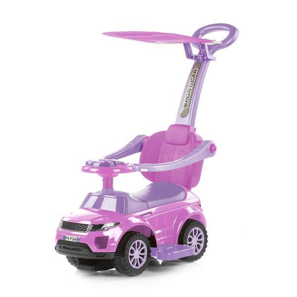 """Кола за яздене със сенник """"RR Max"""" розов"""