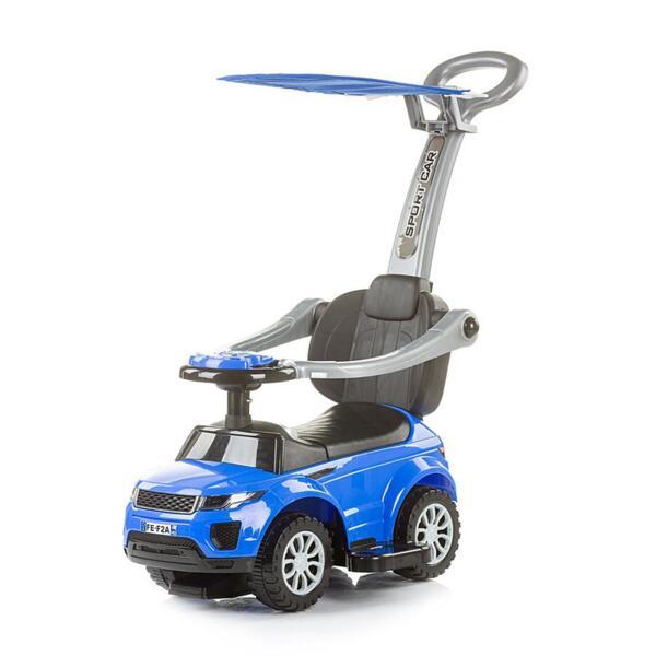 """Кола за яздене със сенник """"RR Max"""" синя"""