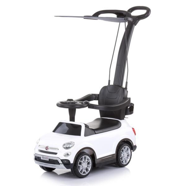 Кола с дръжка/сенник Фиат500X бяла