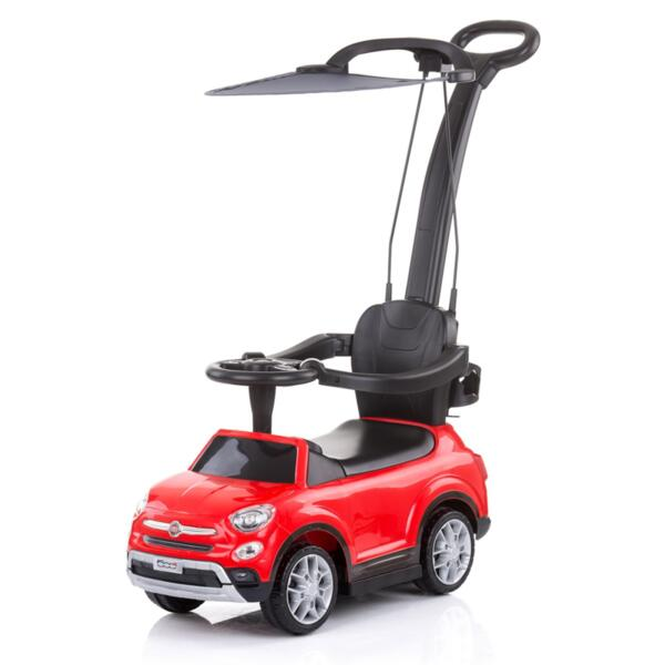 Кола с дръжка/сенник Фиат500X червена