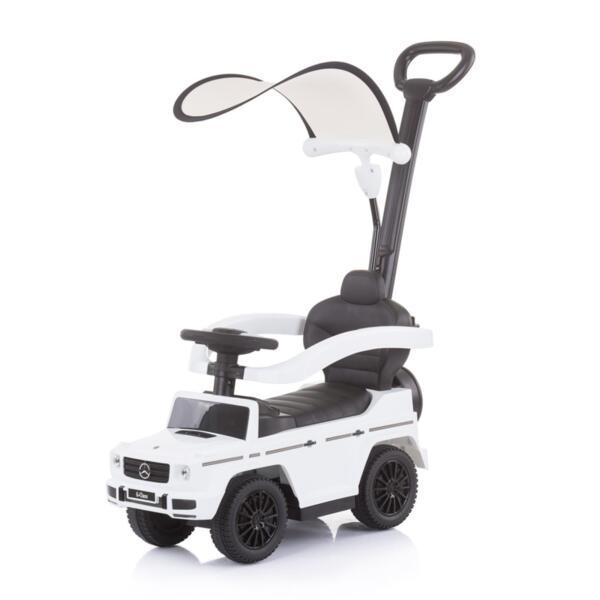 Кола с дръжка/сенник MERCEDES G350d бял