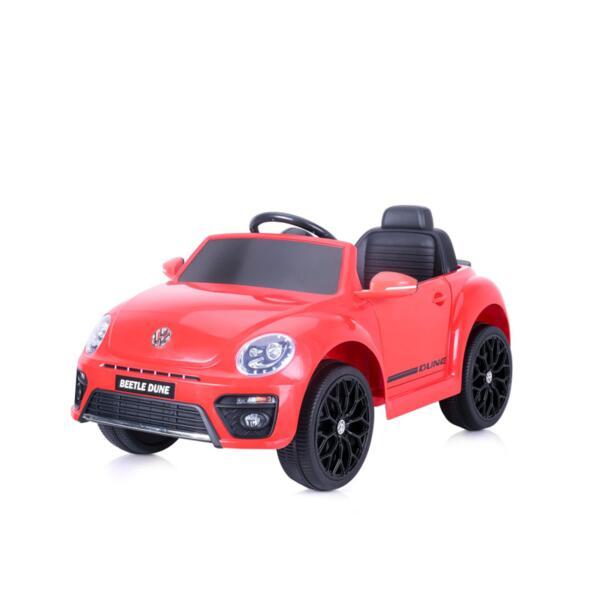 CHIPOLINO Ел.кола VW Beetle Dune Convertible черве