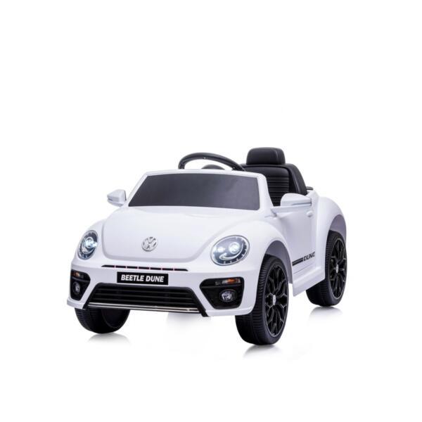 CHIPOLINO Ел.кола VW Beetle Dune Convertible бяла