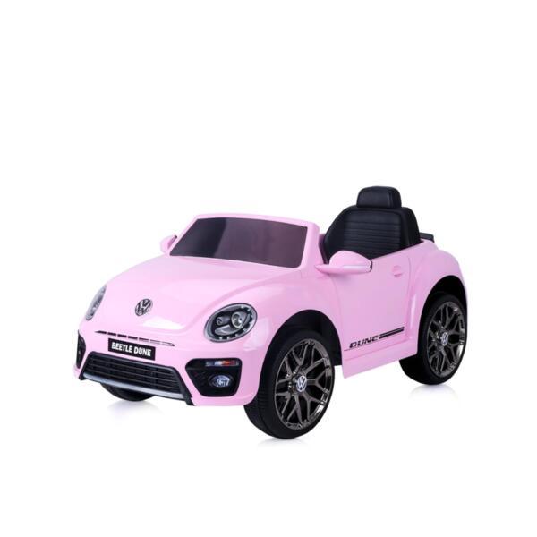 CHIPOLINO Ел.кола VW Beetle Dune Convertible розов