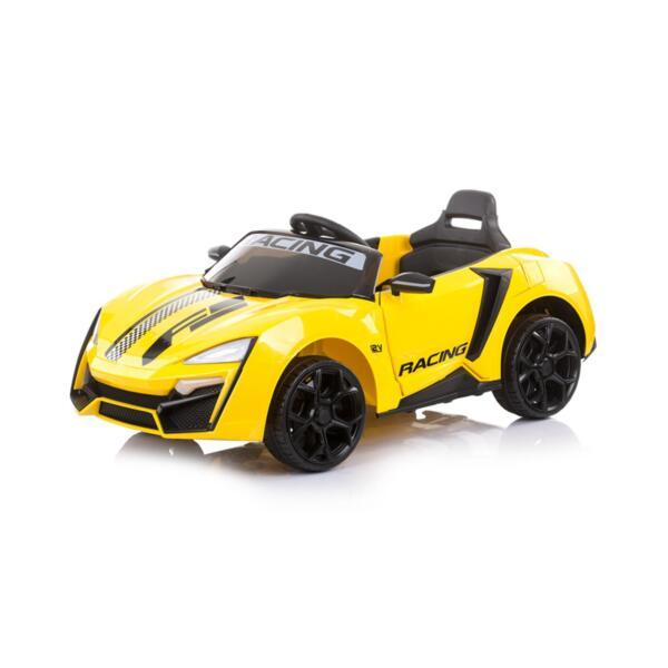 """CHIPOLINO Eлектрическа кола """"Формула"""" жълта"""